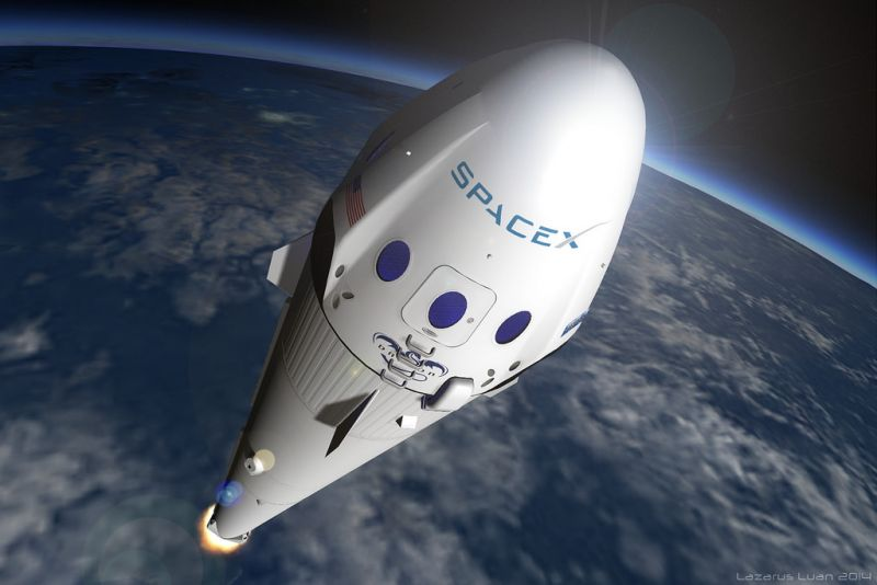 Dragon de SpaceX llega a Estación Espacial Internacional — NASA