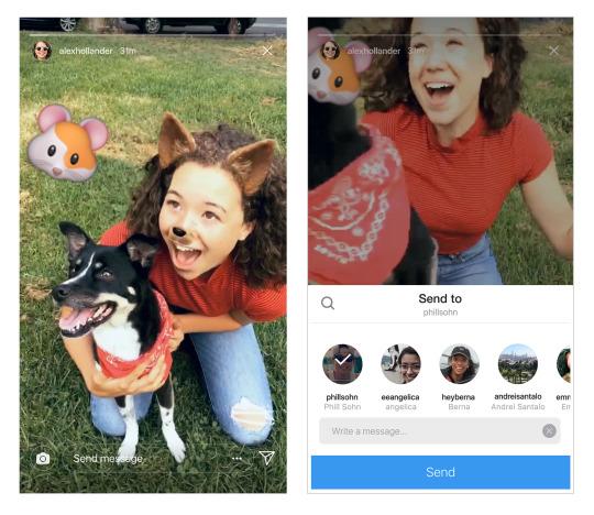 Instagram ya permite compartir Historias en Direct