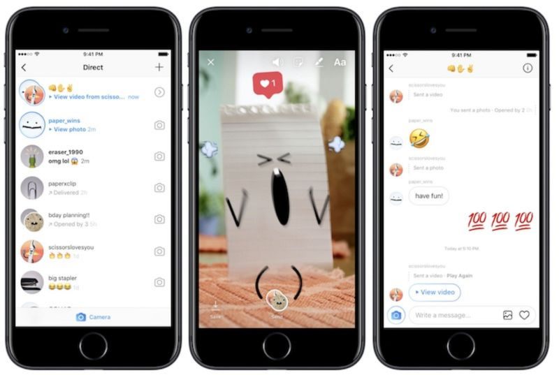 Instagram está probando una app de mensajería independiente