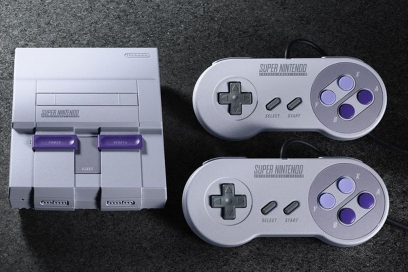 La Super Nintendo Y El Regreso De Los Juegos Retro