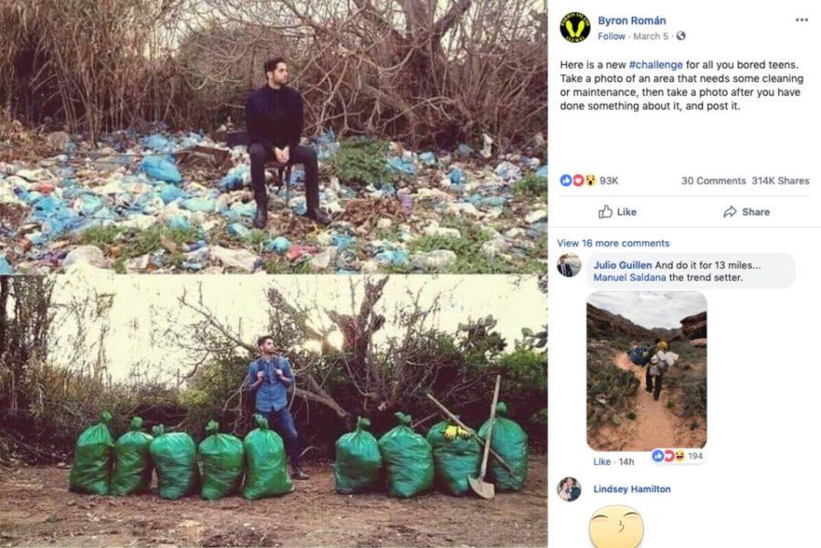 'Trash Challenge', el reto viral que está haciendo que miles limpien playas y parques de basura | Redes Sociales