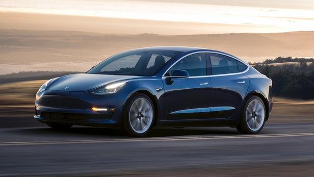 Modelo 3 de Tesla, solo disponible en Estados Unidos.